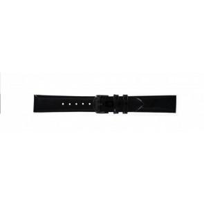 Timex klockarmband T2N790 Läder Svart 18mm