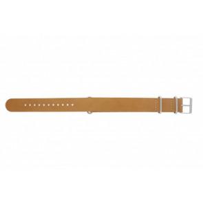 Timex klockarmband T2P492 Läder Brun 20mm