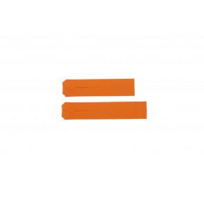 Klockarmband Tissot Z253-353 / T610014615 Gummi Apelsin 20mm