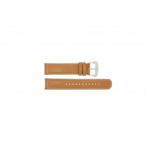 Klockarmband Seiko V172-0AG0 / SSC081P1 / L088011J0 Läder Brun 21mm