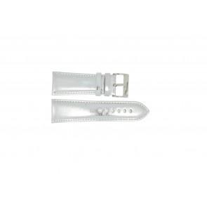 Klockarmband Universell 369.31 Läder Stål 28mm
