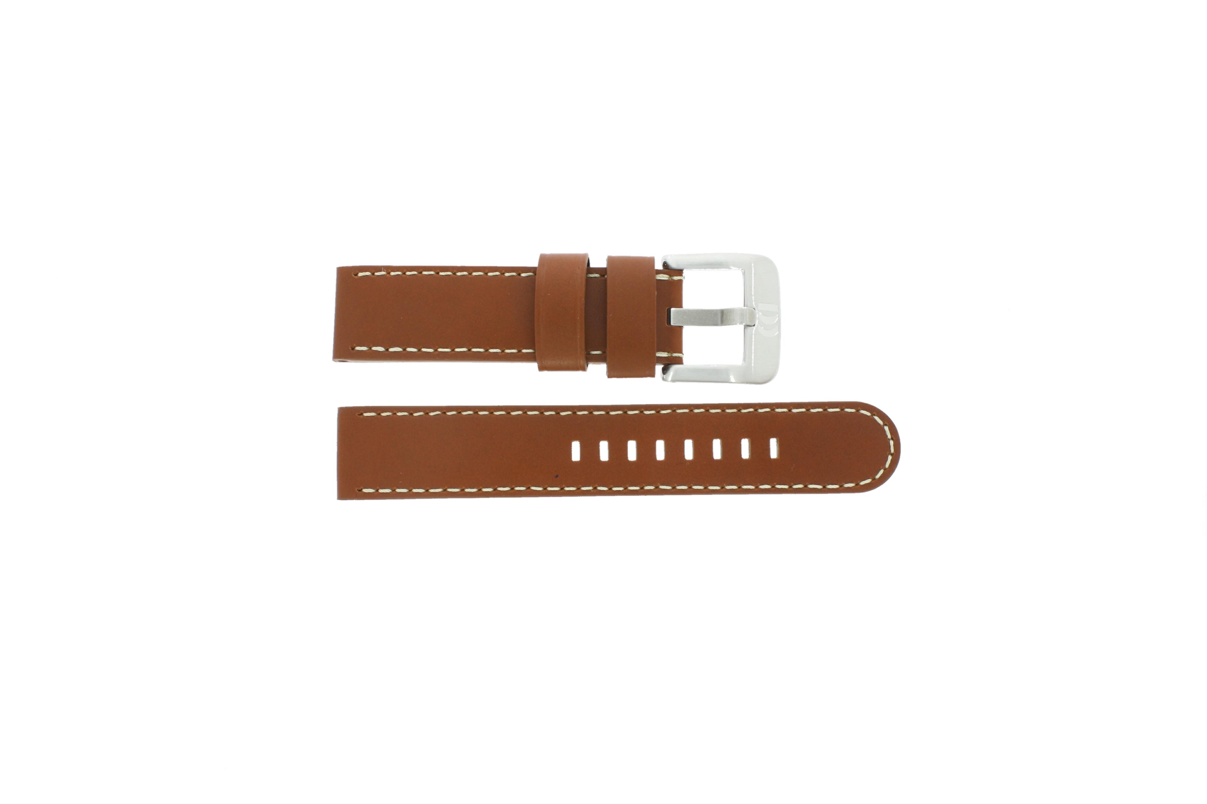 Danish Design klockarmband IQ12Q915 Läder Brun 20mm
