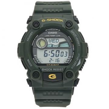 Casio klockarmband G7900-10330753 Gummi Grön 16mm