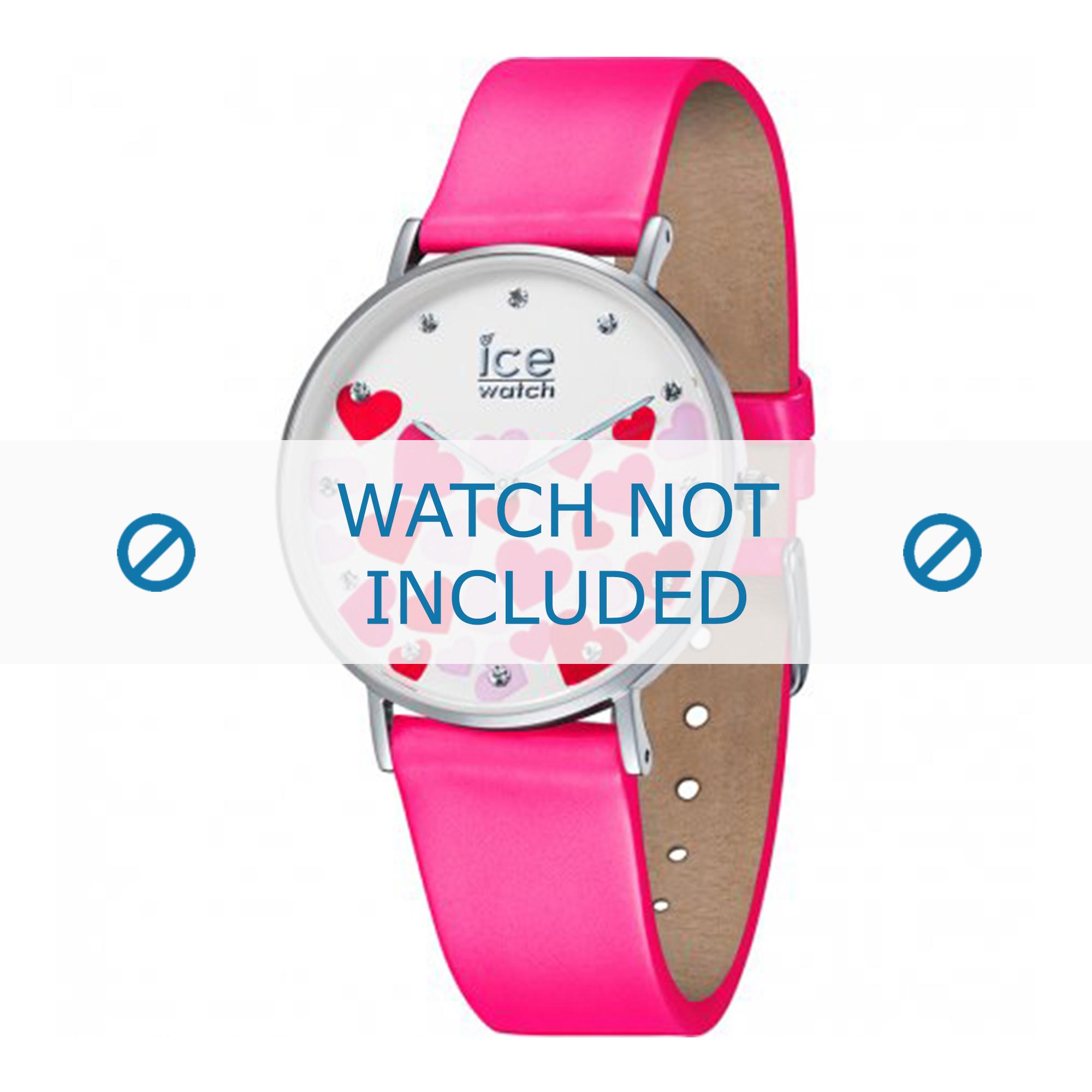 Klockarmband Ice Watch 013374 Läder Rosa 18mm
