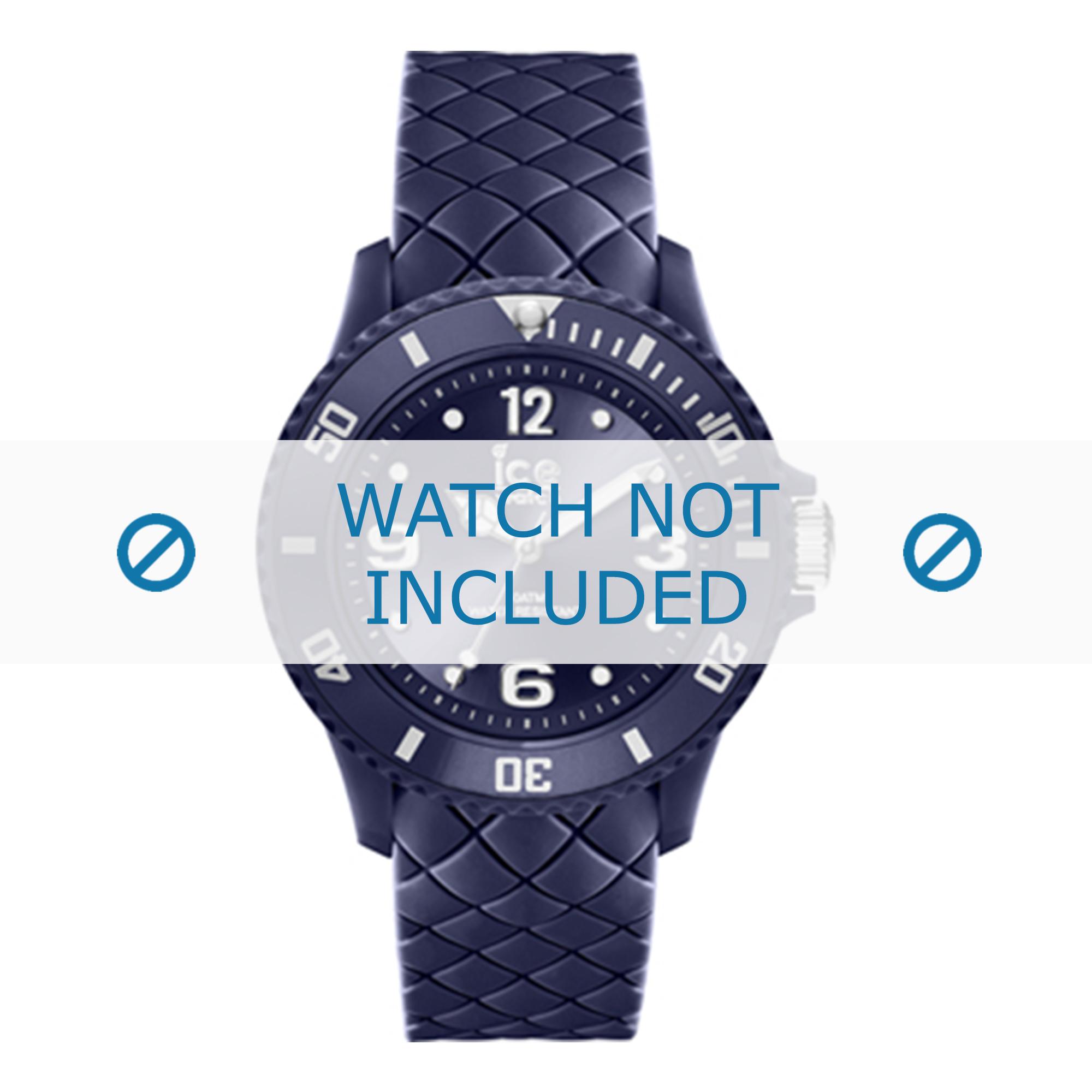 Ice Watch klockarmband 007270 Läder Blå 17mm