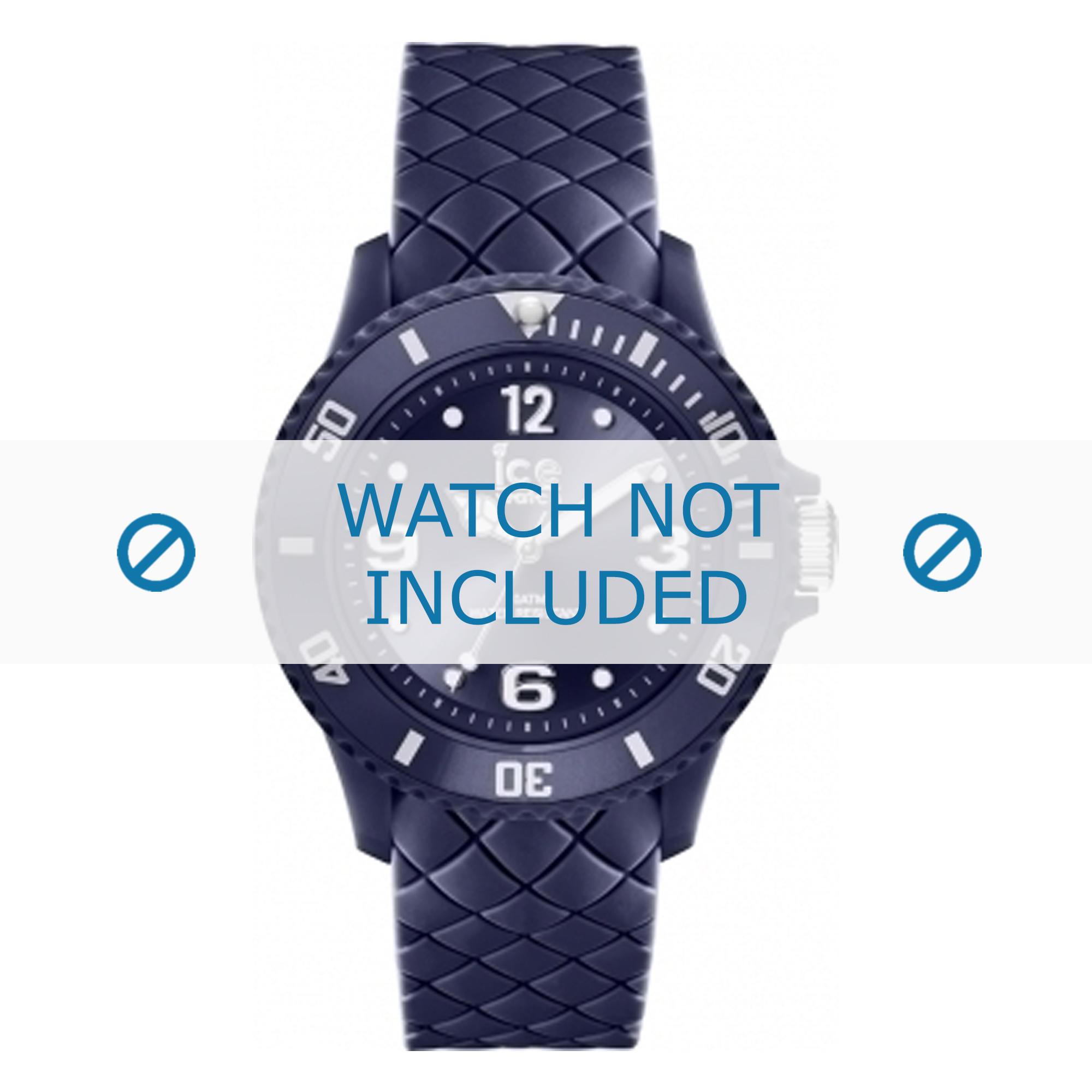 Klockarmband Ice Watch 007271 / 0012911 Silikon Blå 20mm