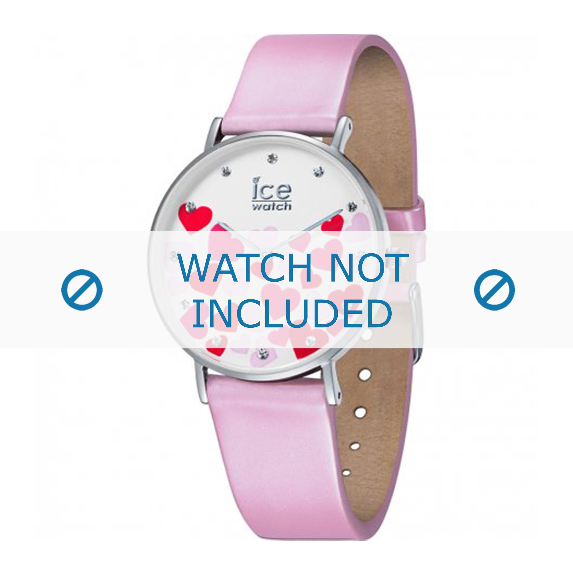 Ice Watch klockarmband 013373 Läder Rosa 18mm