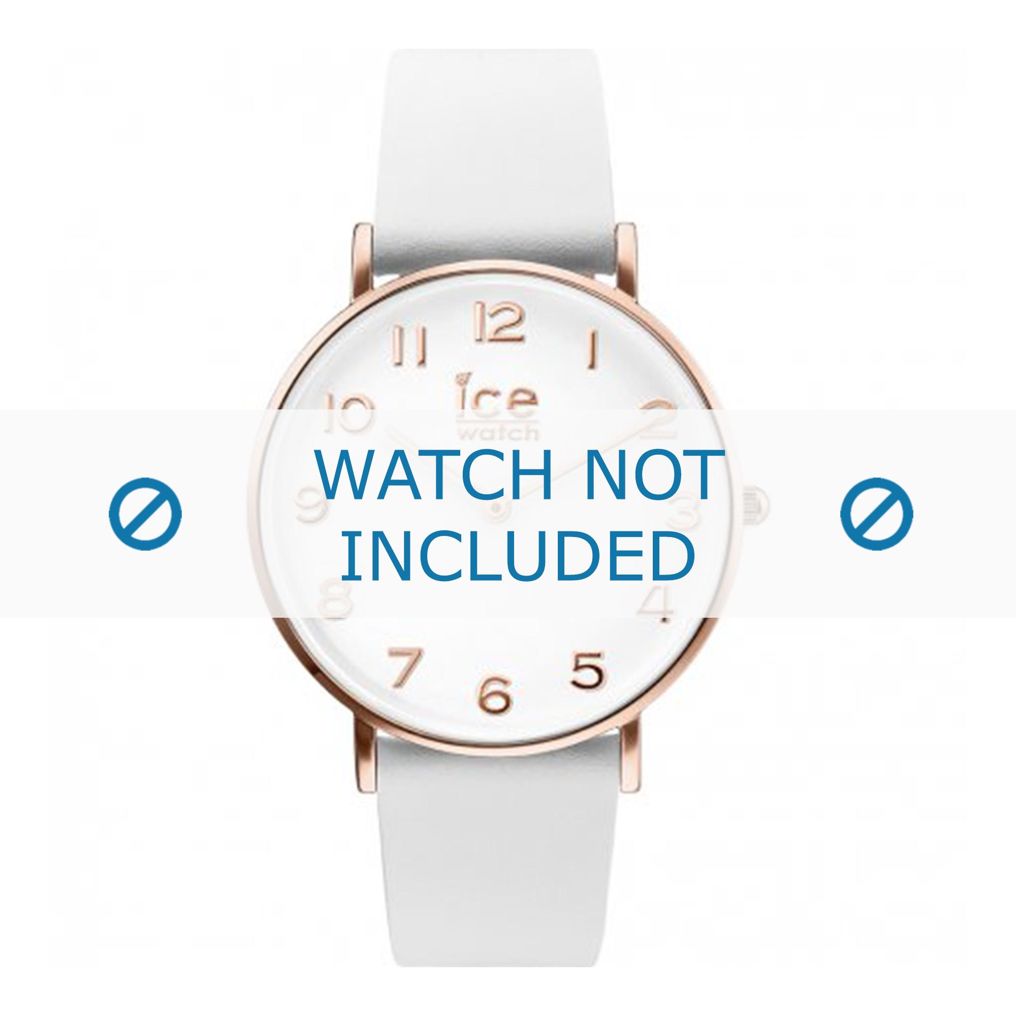 Klockarmband Ice Watch CT.WRG.36.L.16 Läder Vit 18mm