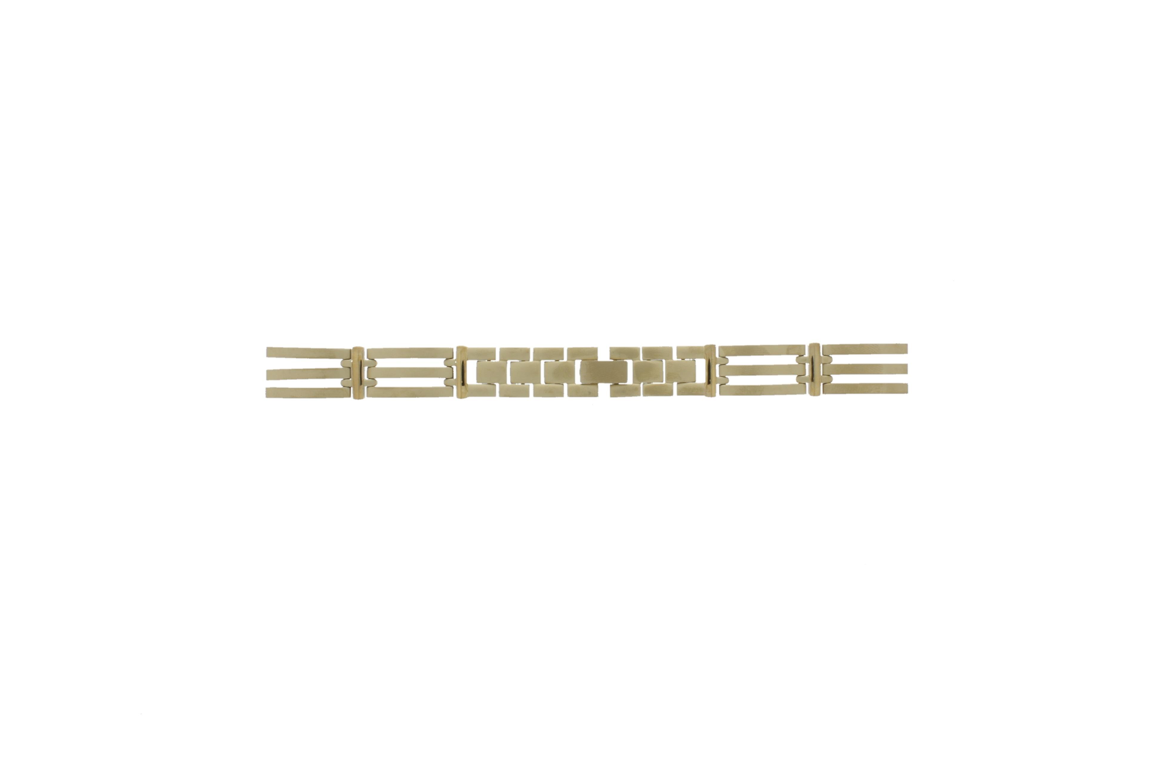 Danish Design klockarmband IV05Q585 Metall Guldpläterad 13mm