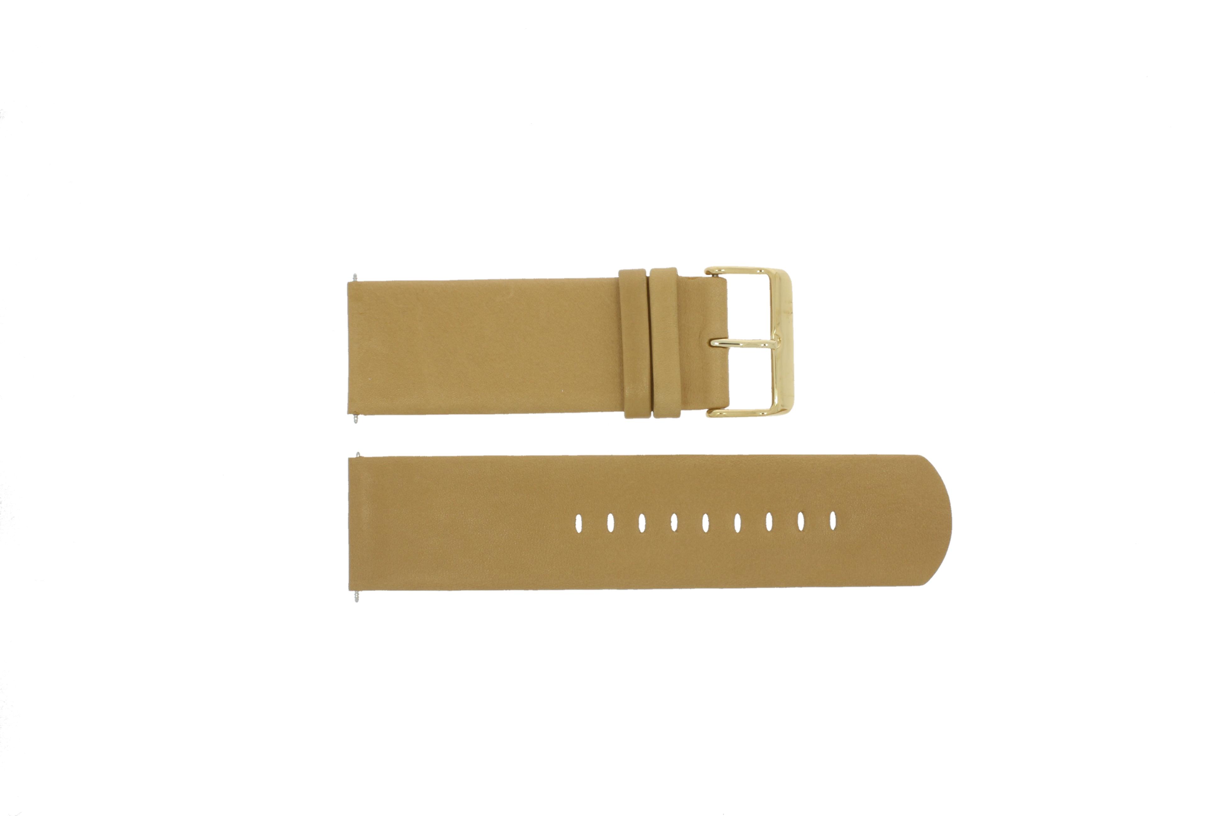a.b.art klockarmband OA106 Läder Brun 26mm