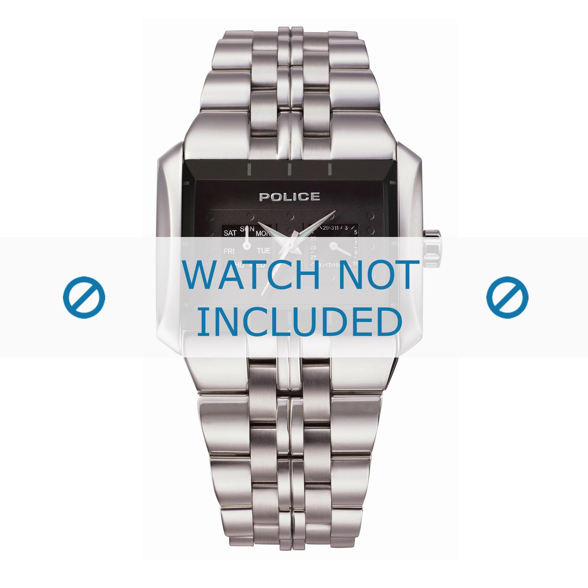 Police klockarmband 10811JS-02 Metall Ilverfärgad