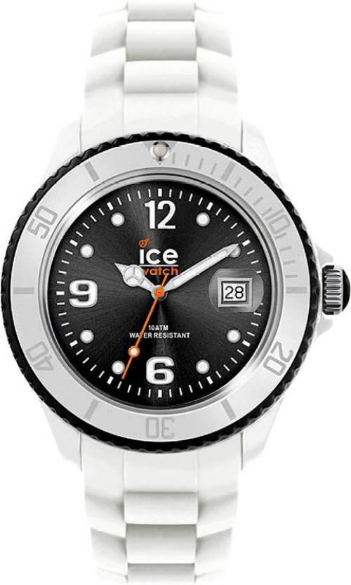 Klockarmband Ice Watch SI.WK.S.S.11 Silikon Vit 17mm
